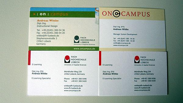 Neue Visitenkarte Neuer Job Online By Nature
