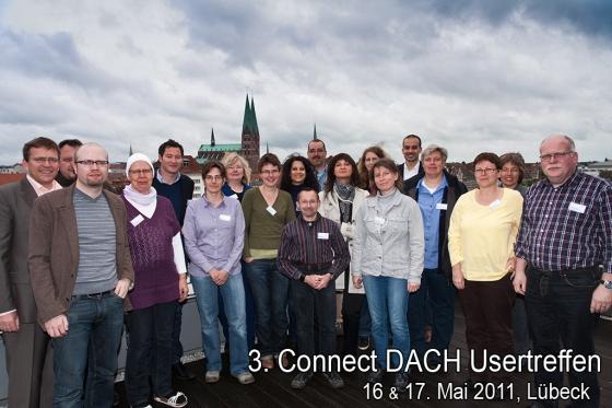 Gruppenfoto 3.Connect DACH Usertreffen in Lübeck